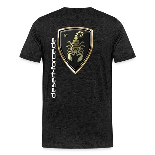Männer Premium T-Shirt Antrazit Variante 5 - Männer Premium T-Shirt