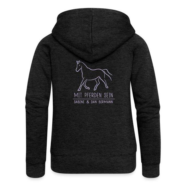 Back Trotting horse  ( Print Digital Lavendel)