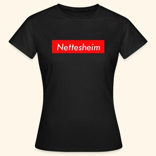 Nettesheim (Frauen schwarz) - Frauen T-Shirt
