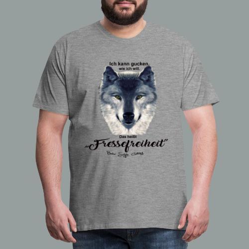 Fressefreiheit - Männer Premium T-Shirt