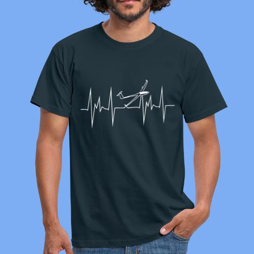 Diana 2 Segelflugzeug Segelflieger - Men's T-Shirt