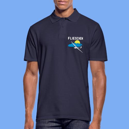 Flieschen Logo Segelflieger Geschenk - Men's Polo Shirt