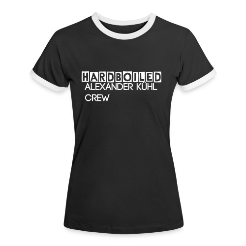 Hardboiled Women Shirt II - Frauen Kontrast-T-Shirt