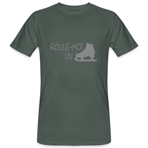 Roule moi un patin - T-shirt bio Homme