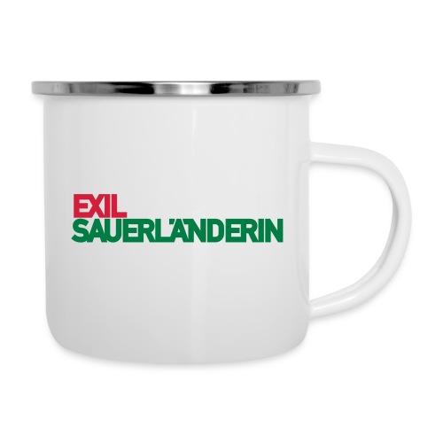 Exil - Emaille-Tasse