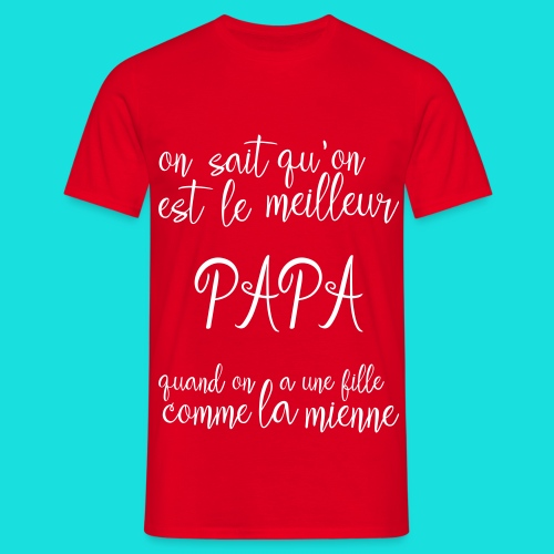 Papa - T-shirt Homme
