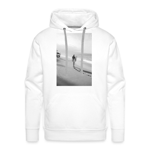 Surfgirl walk - Man Hood front print - Men's Premium Hoodie