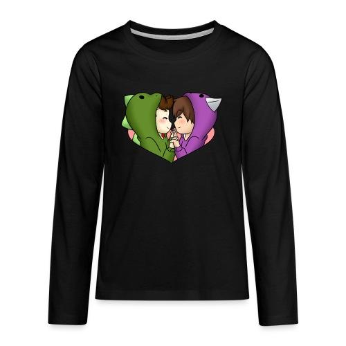 Fyfu Kinder - Teenager Premium Langarmshirt