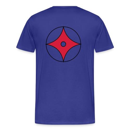 Logo groß auf Rücken - Männer Premium T-Shirt