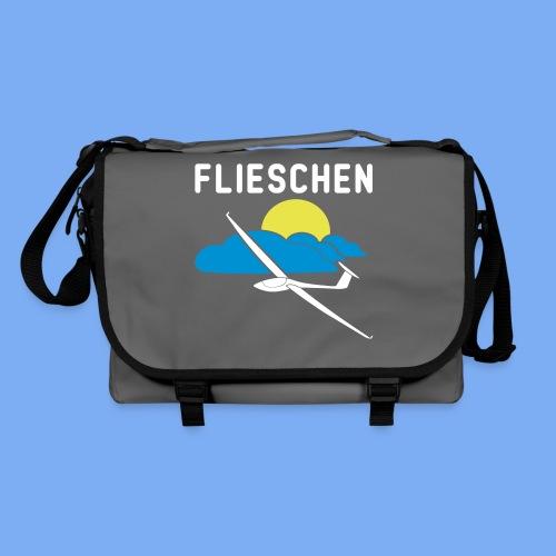 Flieschen Logo Segelflieger Geschenk - Shoulder Bag