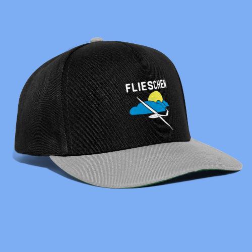 Flieschen Logo Segelflieger Geschenk - Snapback Cap