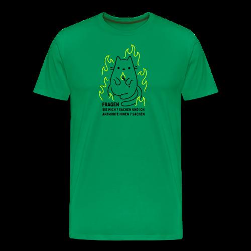 Fragen Sie mich 7 Sachen und ich antworte Ihnen 7 Sachen - Männer Premium T-Shirt