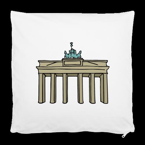 Brandenburger Tor Berlin - Kissenbezug 40 x 40 cm