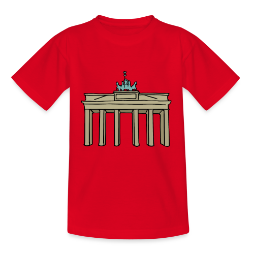 Brandenburger Tor Berlin - Kinder T-Shirt