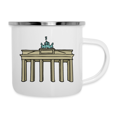 Brandenburger Tor Berlin - Emaille-Tasse