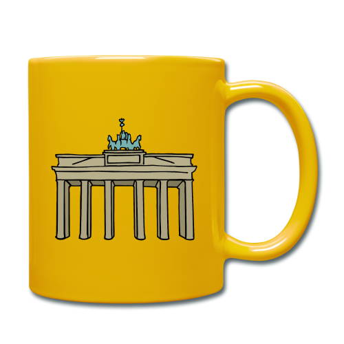 Brandenburger Tor Berlin - Tasse einfarbig