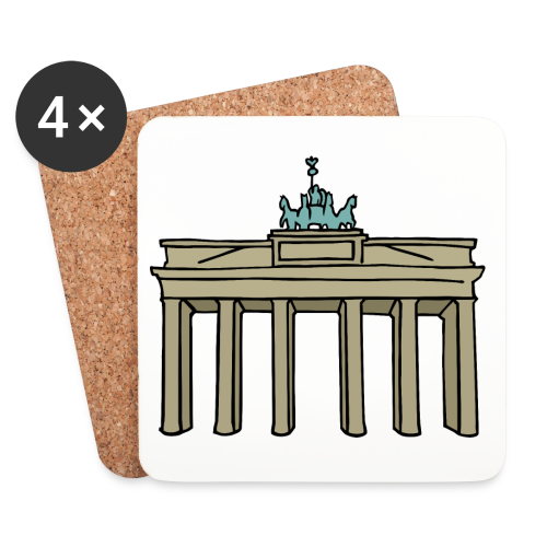 Brandenburger Tor Berlin - Untersetzer (4er-Set)