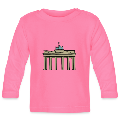 Brandenburger Tor Berlin - Baby Langarmshirt