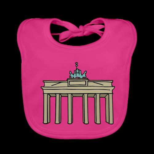 Brandenburger Tor Berlin - Baby Bio-Lätzchen