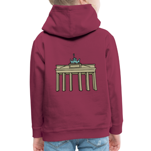 Brandenburger Tor Berlin - Kinder Premium Hoodie
