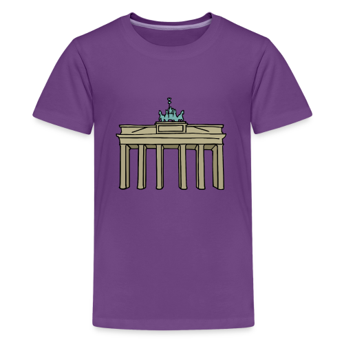 Brandenburger Tor Berlin - Teenager Premium T-Shirt