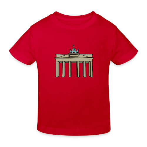 Brandenburger Tor Berlin - Kinder Bio-T-Shirt