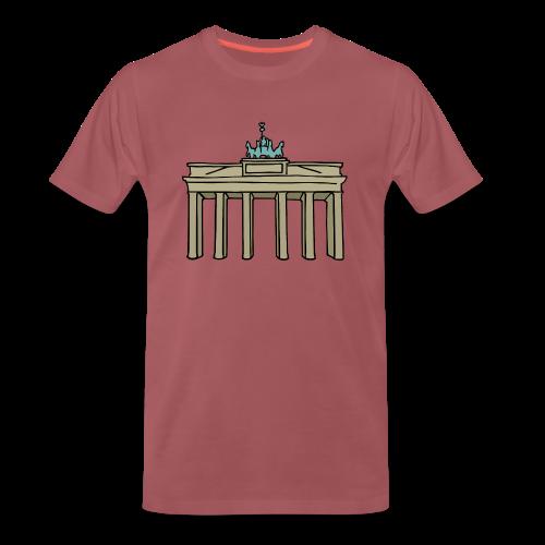 Brandenburger Tor Berlin - Männer Premium T-Shirt