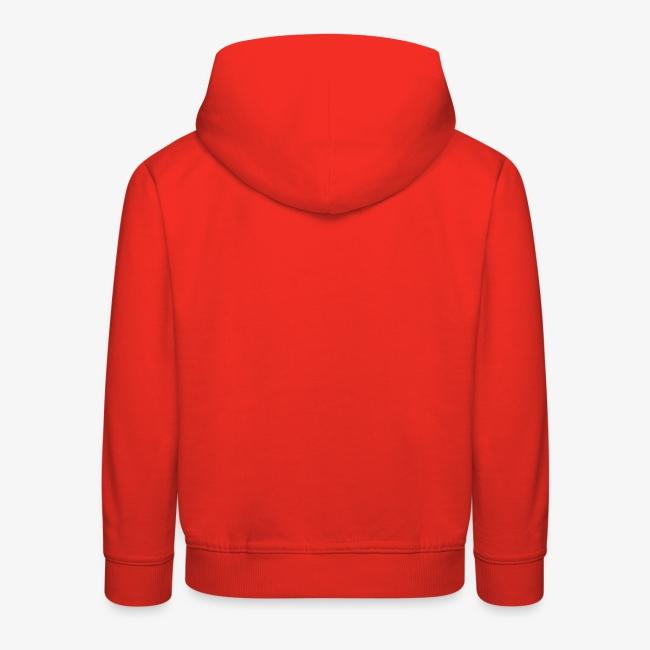 Retro Hoodie - Kids - RED