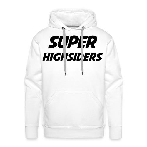 SuperHighsiders Männer Pulli White Edition - Männer Premium Hoodie