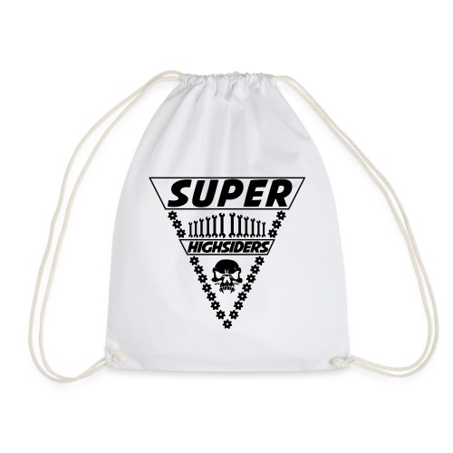 SuperHighsiders Bag White Edition - Turnbeutel