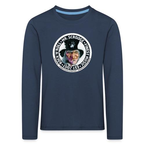 Longsleeve Kids. Mega. - Kinder Premium Langarmshirt
