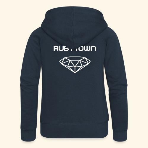 Rubytown Zipper - Frauen Premium Kapuzenjacke