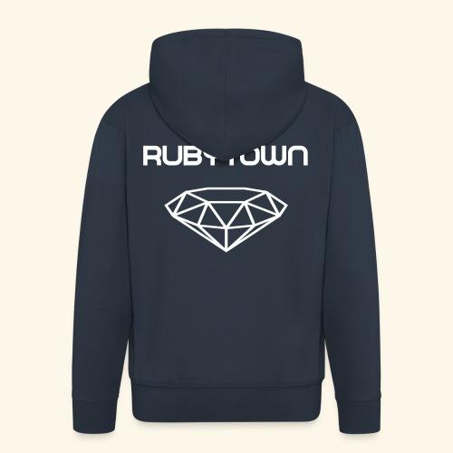 Ruby-Town Zipper - Männer Premium Kapuzenjacke