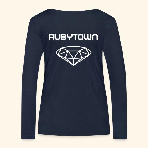 Rubytown Langarmshirt - Frauen Bio-Langarmshirt von Stanley & Stella