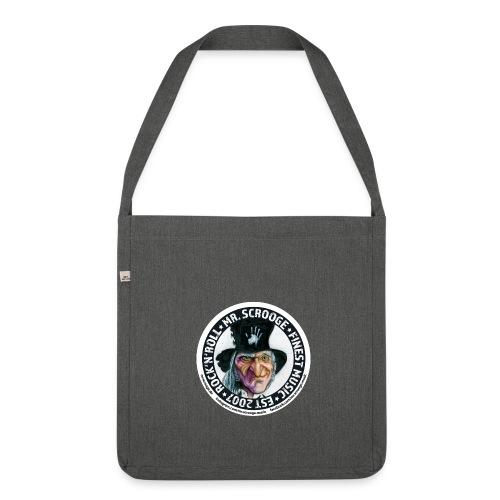 Bag und weg. Mr. Scrooge - Schultertasche aus Recycling-Material
