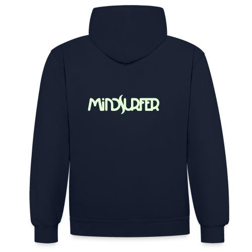 Mindsurfer Man Hoodie - Kontrast-Hoodie