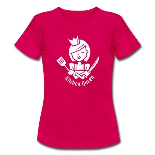 VL126_KitchenQueen_1c_inv T-Shirts - Frauen T-Shirt