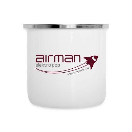 airman Logo - Emaille-Tasse - Emaille-Tasse