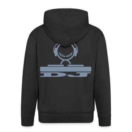 dj alien - Men's Premium Hooded Jacket