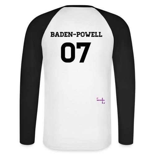 BP07 Ms Longsleeve Baseball Tee - Langærmet herre-baseballshirt