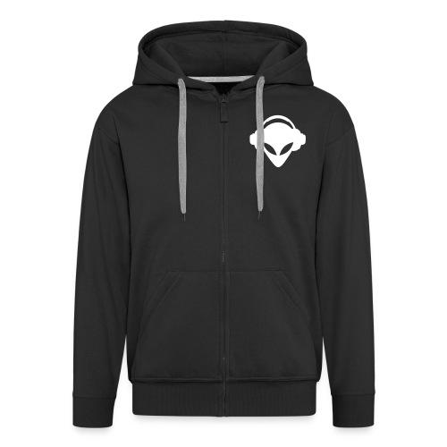 Terror alien VEST - Men's Premium Hooded Jacket