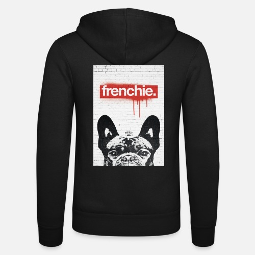 Frenchie Streetart Part 2 - Unisex Kapuzenjacke von Bella + Canvas
