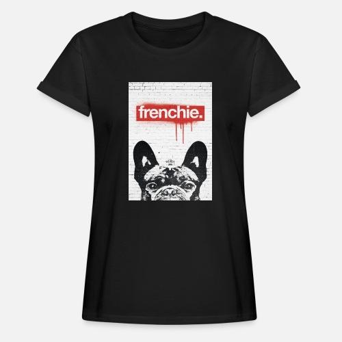 Frenchie Streetart Part 2 - Frauen Oversize T-Shirt