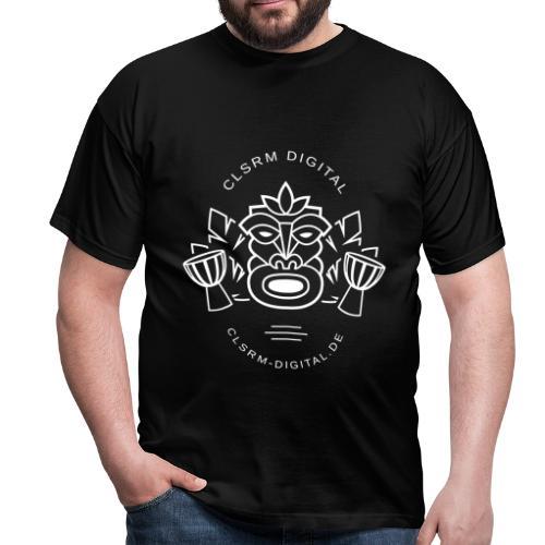 Mens T-Shirt Totemic 1c White - Männer T-Shirt