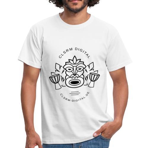 Mens T-Shirt Totemic 1c Black - Männer T-Shirt