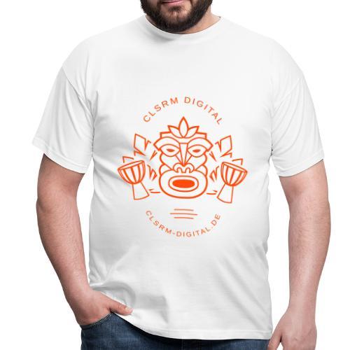 Mens T-Shirt Totemic 1c Orange - Männer T-Shirt