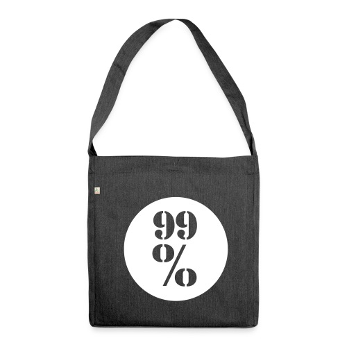 99% Schultertasche aus Recyclingmaterial - Schultertasche aus Recycling-Material