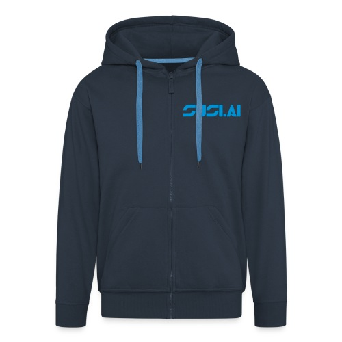 SUSI.AI Premium Hooded Jacket - Men's Premium Hooded Jacket