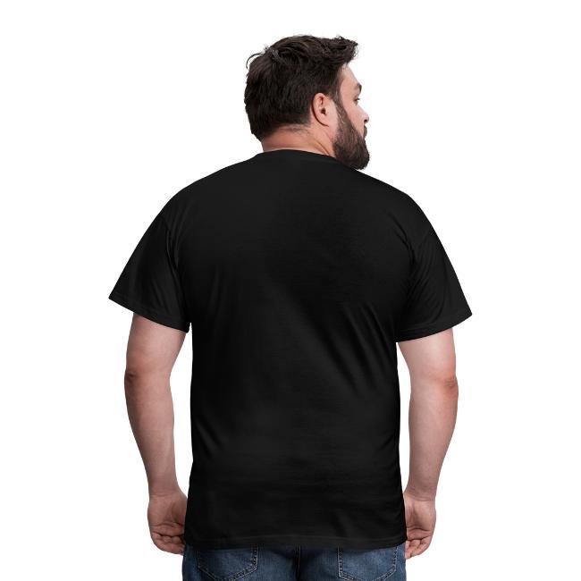 Mens T-Shirt Print Totemic 2c Yellow / White
