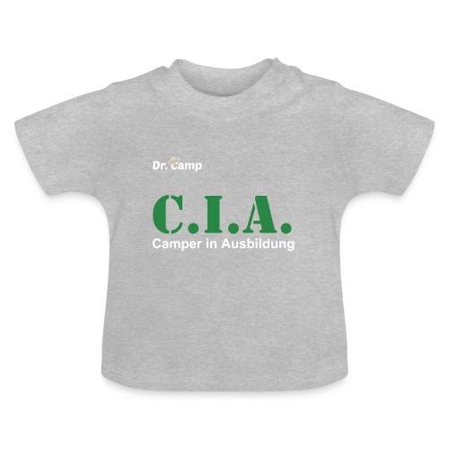 Dr. Camp Babyshirt Camper in Ausbildung - Baby T-Shirt